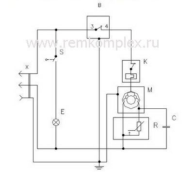 принципиальная схема холодильника с системой no frost