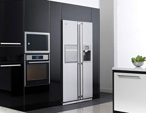 Встраиваемый холодильник сайд бай сайд самсунг
